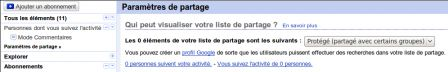 Social Networking avec Google Reader